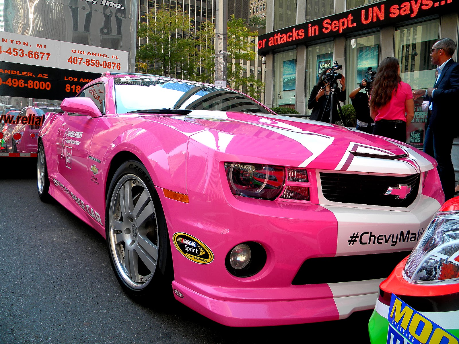 Chevrolet clipart custom Go Pink Chevrolet Public NASCAR