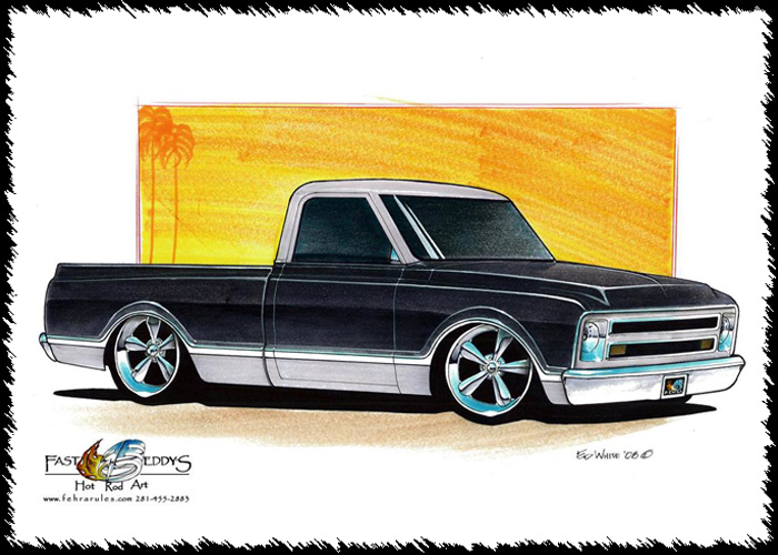 Chevrolet clipart custom 1967 CHEVY cars TRUCK Pinterest