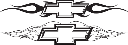 Chevrolet clipart flame Clipart and black white ClipartFest