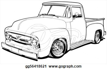 Ford clipart antique truck Images Chevy Panda Clipart Clip