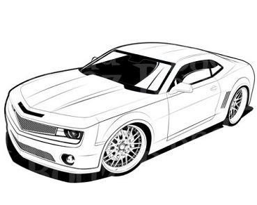 Yellow clipart camaro Clipart camaro Camaro Free Clipart