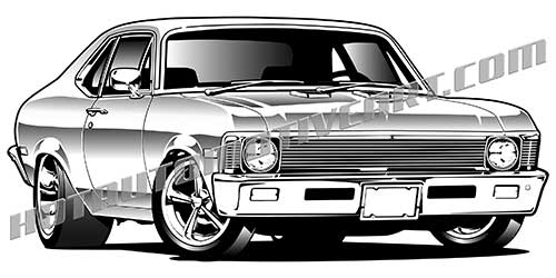 Chevrolet clipart muscle car 3/4 69 high view get