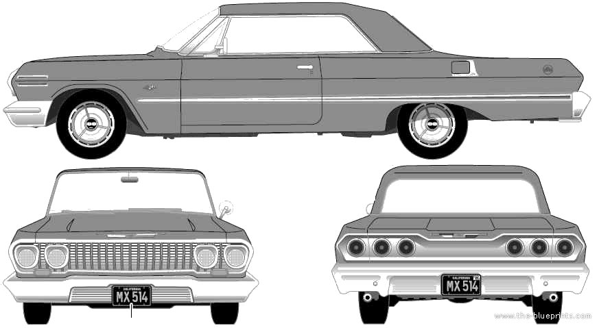 Chevrolet Impala clipart Team 63 WIP] Impala Mindstorms