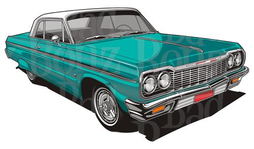 Chevrolet Impala clipart Impala Chevy 2 1964
