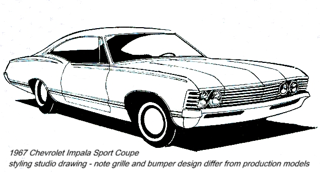 Chevrolet Impala clipart Trucks 1967 and Pin