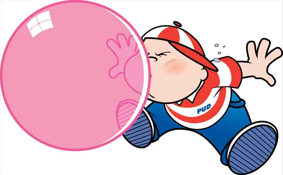 Chewing Gum clipart blowing bubble Playing Cliparts Bubble Chewing Boy