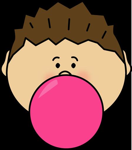 Chewing Gum clipart allowed Boy Art Clip Bubble Bubblegum