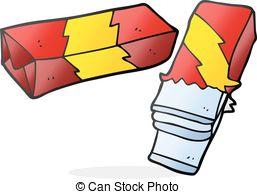 Chewing Gum clipart allowed  cartoon clip drawn gum