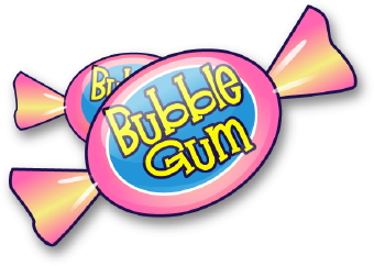 Chewing Gum clipart blowing bubble Gum Free Clipart Clipart Chewing
