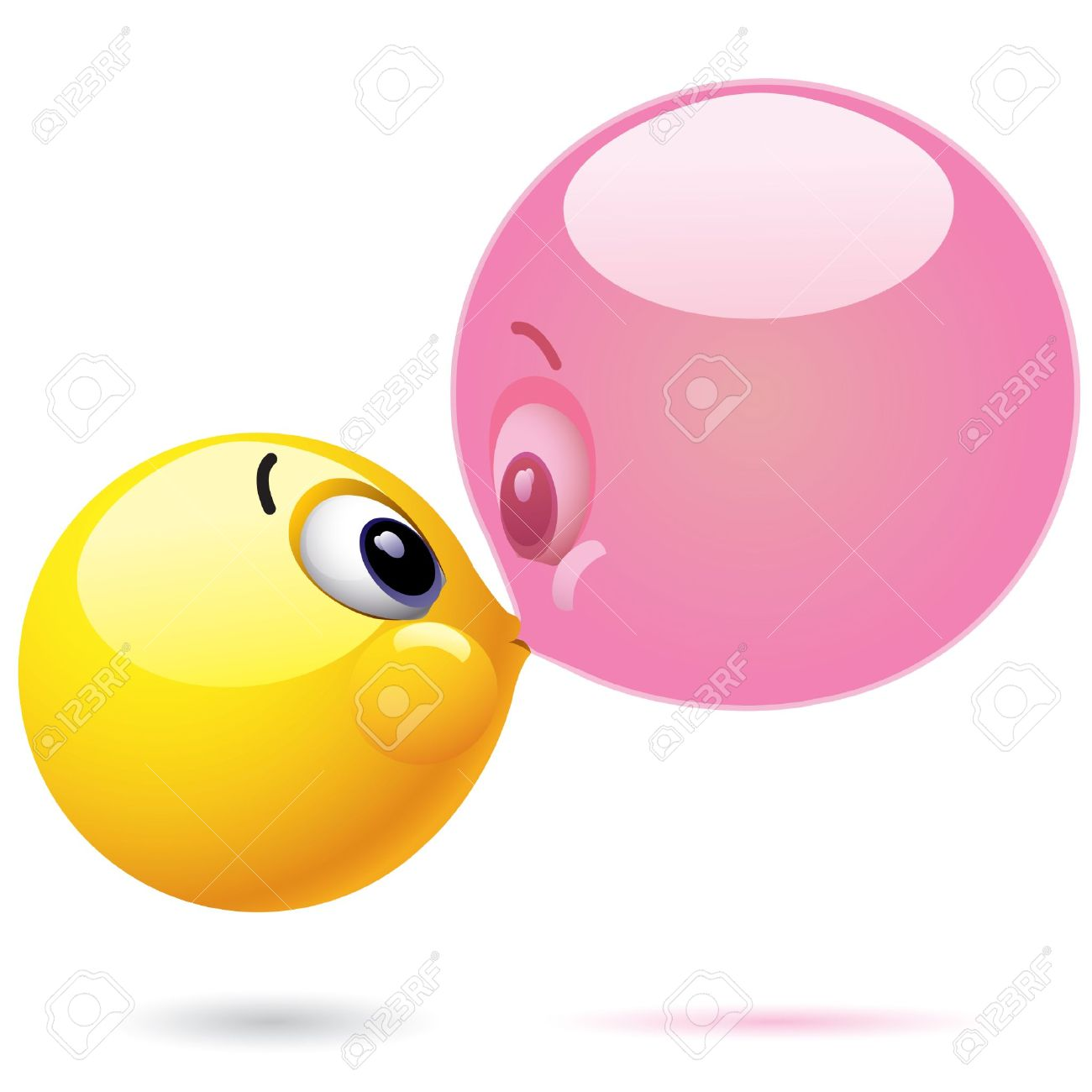 Chewing Gum clipart blowing bubble 852 collection Blowing bubble 2