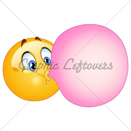 Chewing Gum clipart dubble bubble Bubble  Gum Double Clip