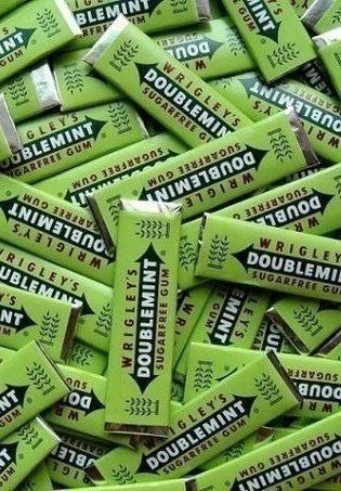 Chewing Gum clipart green The gum Doublemint gum you