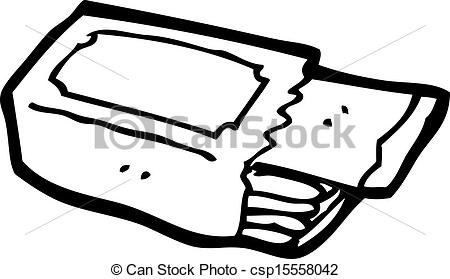 Chewing Gum clipart packet Packet chewing packet  chewing