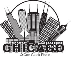 Chicago clipart  1 City in Royalty