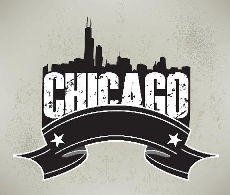 Chicago clipart Banner Banner  Skyline Chicago