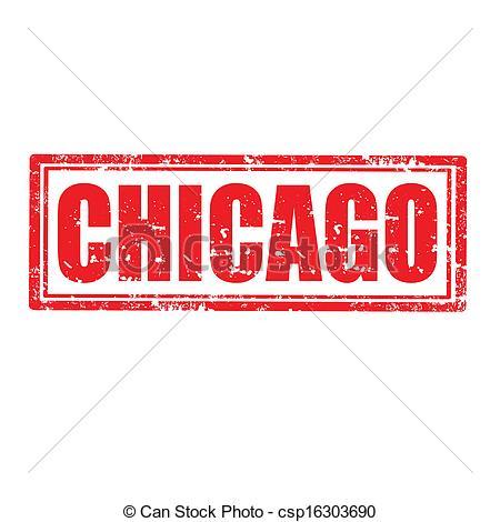 Chicago clipart Csp16303690 stamp  Chicago of