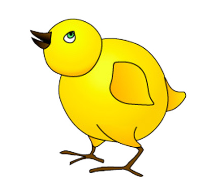 Chick clipart #9