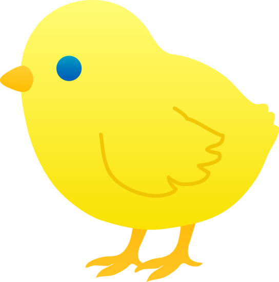 Chick clipart #2