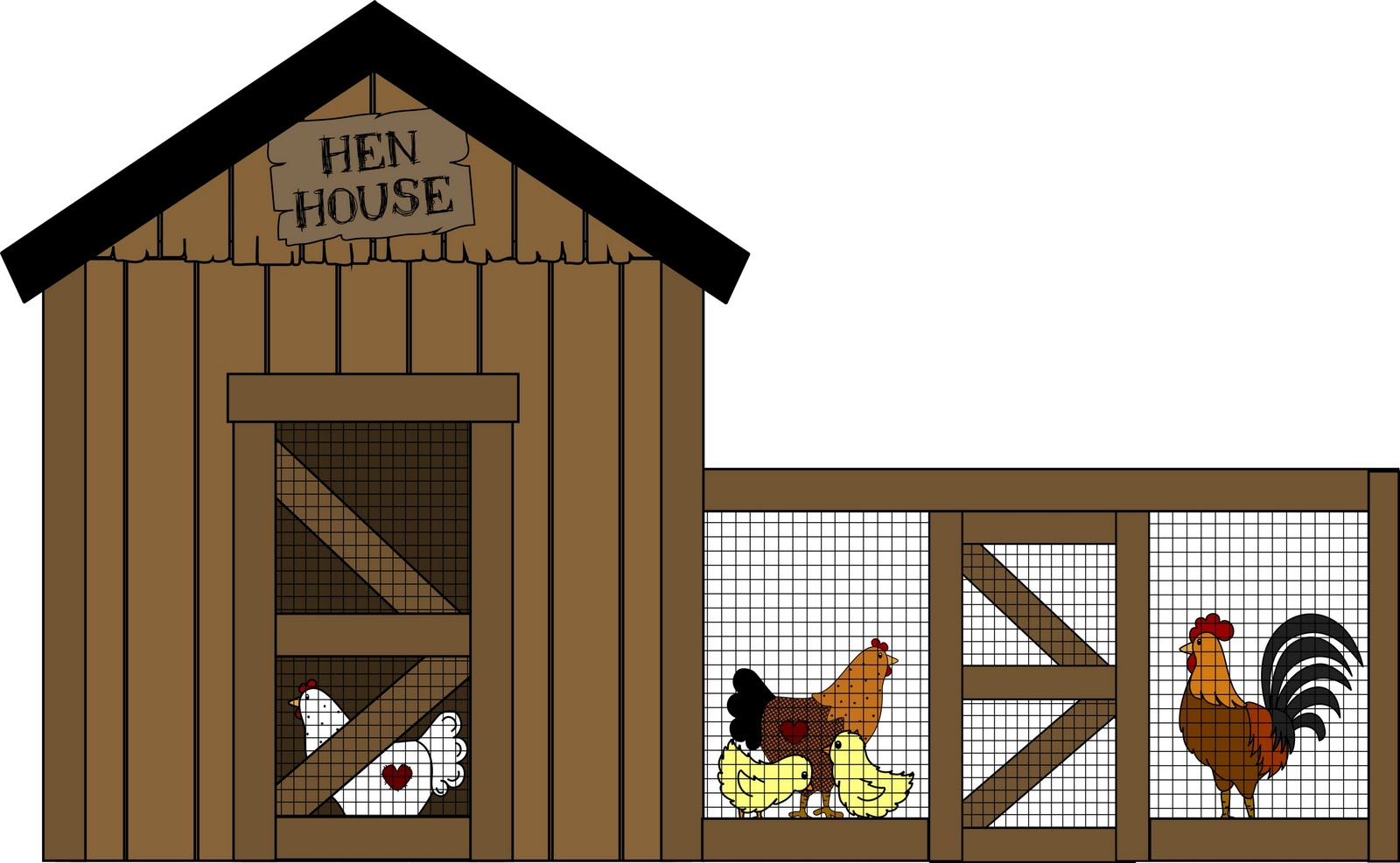 Chick clipart chicken house Aileen Arts: Fisher Tomorrow Chick