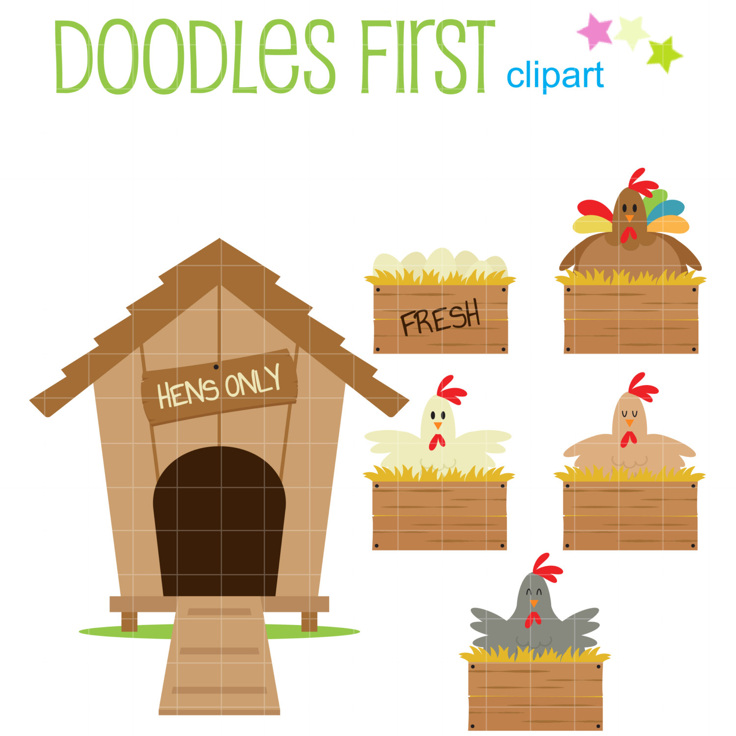 Chick clipart chicken house Images coop Chicken com with
