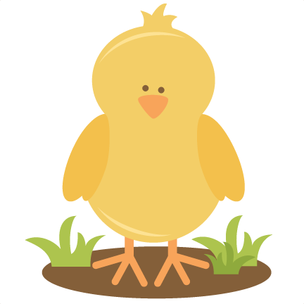 Chicken clipart spring chick Svg file scrapbooking Spring spring