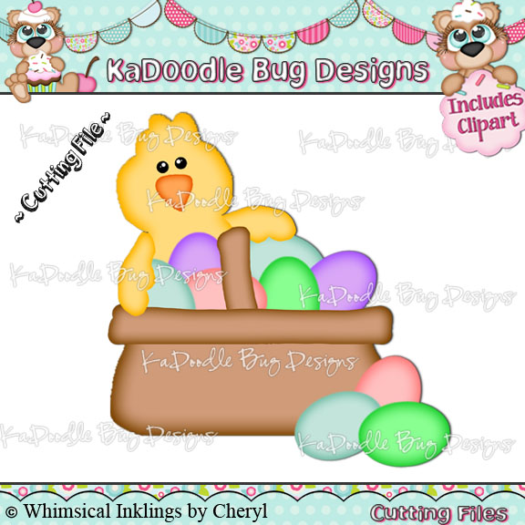 Chick clipart vector Designs Bug CF by Cut