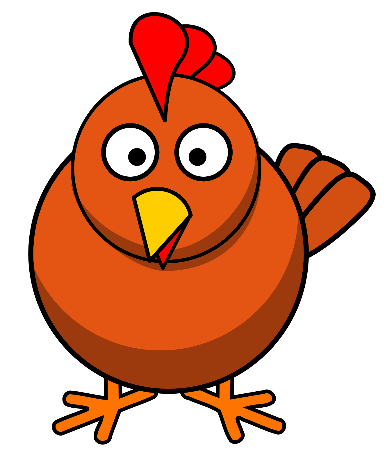 French Fries clipart crinkle cut Chicken clipart chicken chicken clipart