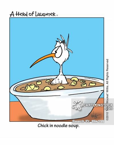 Chicken Soup clipart cartoon 3 cartoon 1 Comics CartoonStock