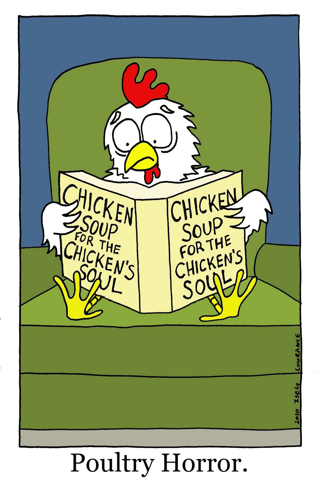 Chicken Soup clipart cartoon Soul for the 2010 chicken's