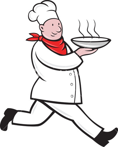 Chicken Soup clipart chef cooking Running Soup Cook Bowl Serving