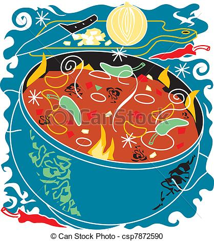 Chicken Soup clipart chili soup Soup EPS Chili and Soup