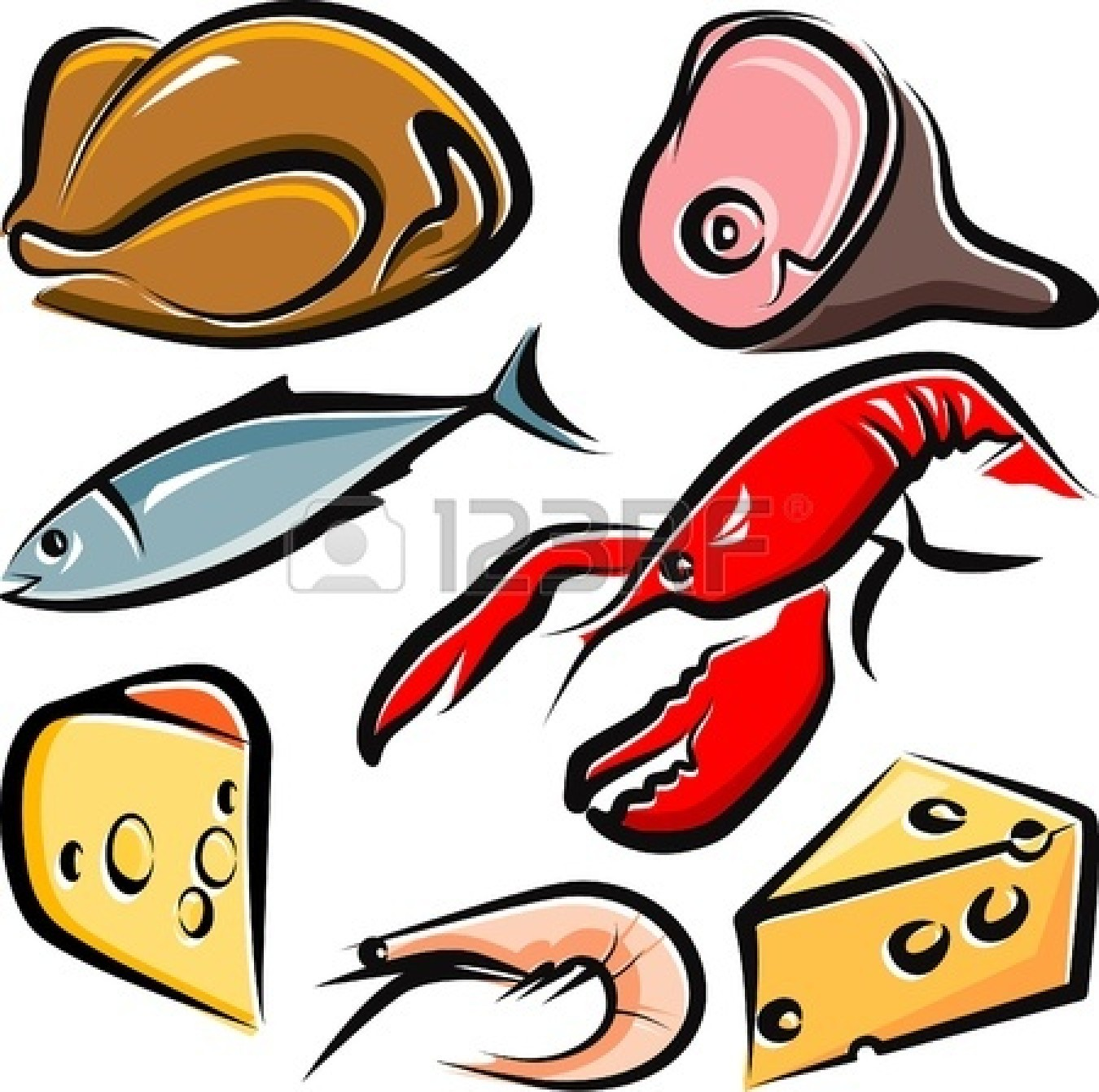 Sushi clipart logo Chef Raw Chicken Food Cartoon