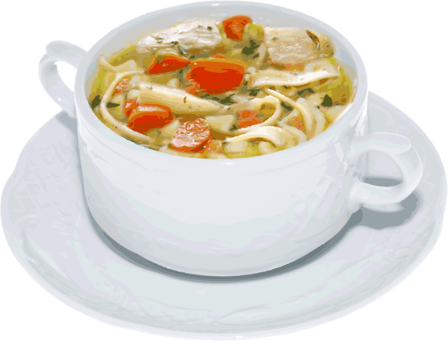 Stew clipart chicken soup And The Does Soups A
