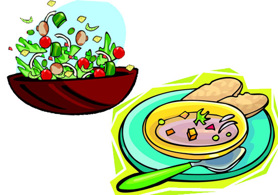 Chicken Soup clipart soup and salad Art – Clip Download Clipart