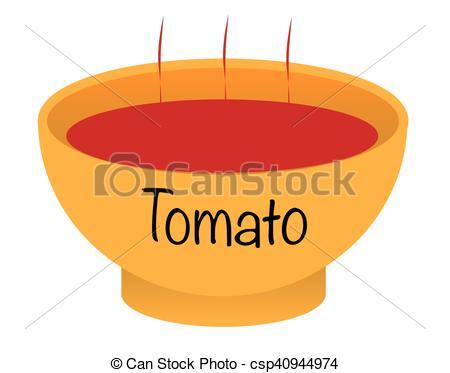 Chicken Soup clipart tomato soup Illustration Bowl soup of tomato