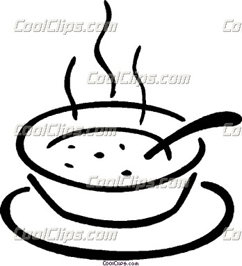 Stew clipart black and white Soup Free Can Images Clipart