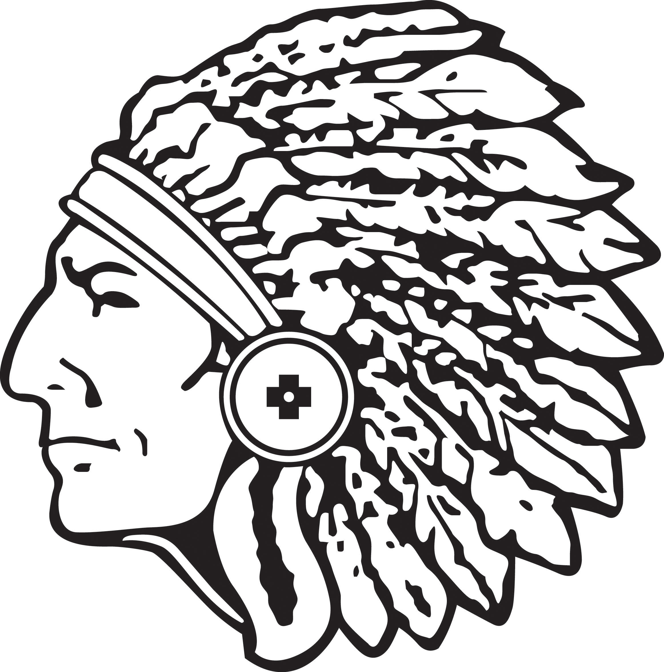 Indian clipart profile Native Clipartix image 2 head