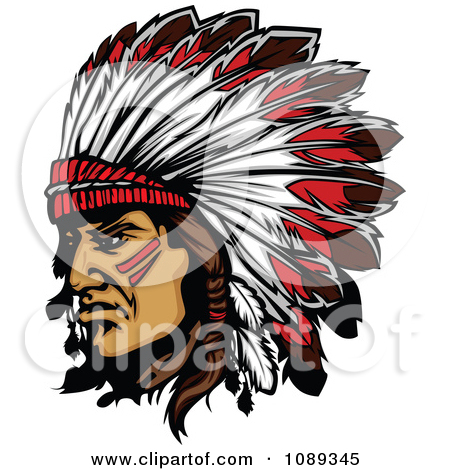 Chief clipart indian headdress Clipart American Collection Clipart indian