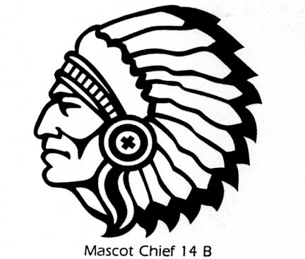 Chief clipart indian mascot Mascot clipartsgram Football Clipart Indian