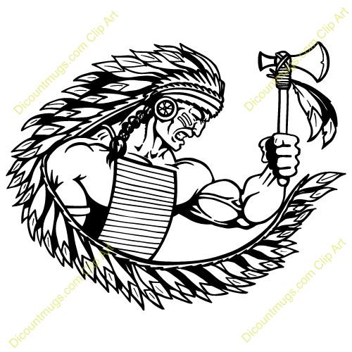 Chief clipart indian mascot (83+) clip mascot art indian