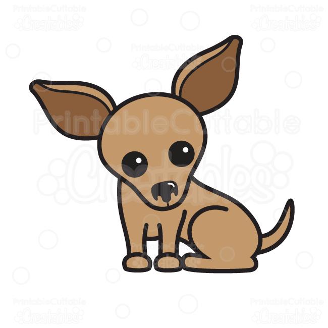 Chihuahua clipart Clipart Cute  Cutting Chihuahua