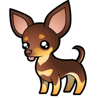 Small clipart chiwawa Cute art funny images clip