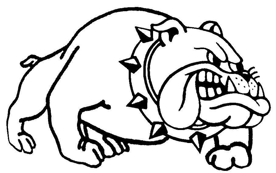 Drawn bulldog mad dog Face Chihuahua Mean Mean Clipart