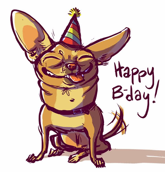 Chihuahua clipart birthday Forums Chihuahua Happy Forums Post