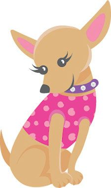 Chihuahua clipart birthday Party best decal Birthday images
