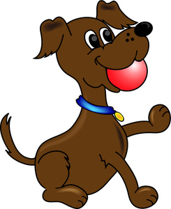 Animl clipart brown dog #2