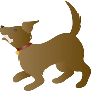 Pet clipart animal fur Dog clipart Clipart Dog Bone