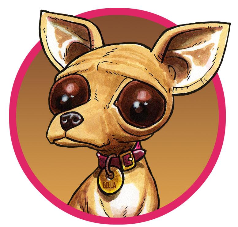 Chihuahua clipart chihuahua dog Faster chi: happy Charming friend