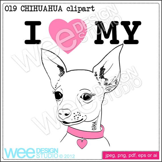 Chihuahua clipart chihuahua dog Png heart jpeg jpeg graphic