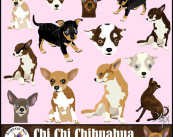 Chihuahua clipart chihuahua dog Clipart dog full 1 color